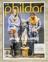 Magazine Phildar n°146 - Spécial accessoires automne-hiver