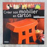Livre Créer son mobilier en carton