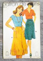 Pochette patron de Paris 8411 d - Jupe (Vintage)