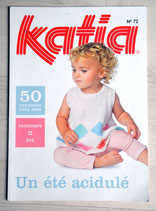 Magazine tricot Katia 72 - Layette printemps-été