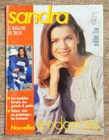 Magazine tricot Sandra 163 - Février 1998