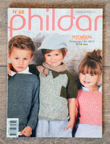 Magazine Phildar 68 - Pitchoun printemps-été 2012