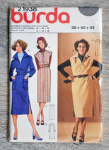 Pochette patron Burda n°21938 - Robe (Vintage)