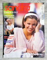 Magazine tricot Sandra n°175 - Février 1999