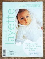 Mini magazine Phildar sélection best layette