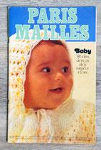 Magazine Paris Mailles n°27 - baby tricot (Vintage)