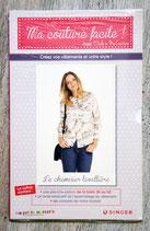 Patron Ma couture facile ! n°24 - Le chemisier lavallière