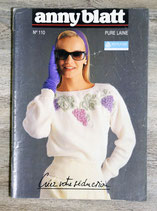 Magazine tricot Anny Blatt n°110 - Pure laine