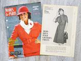 Magazine Modes de Paris n°1516 de 1978 + patron robe