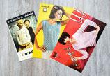 Lot de 3 fiches tricot femme (Vintage)
