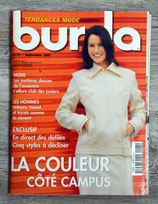 Magazine Burda de septembre 2001 (Couture)