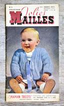 Magazine tricot Jolies mailles n°6 (Vintage)