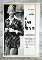 Patron Modes de Paris n°1344 - Blazer et pantalon femme