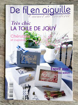 Magazine Les carnet De fil en aiguille n°5 - Toile de Jouy