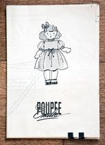 Patron de couture Modes & Travaux - Robe en cotonnade poupée Emilie