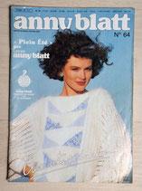 Magazine tricot Anny Blatt 64 - Plein été