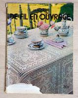 Magazine crochet 3 Suisses - De fil en ouvrage