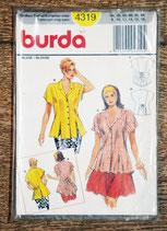 Patron couture Burda 4319 - Blouse femme
