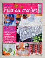 Magazine Sabrina crochet 4 - Filet au crochet