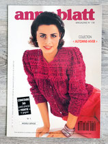 Magazine tricot Anny Blatt n°136 - Automne-hiver