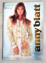 Magazine tricot Anny Blatt 206 - Collection couture