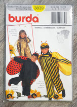 Pochette patron Burda n°3839 - Costume combinaison enfant