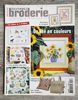 Magazine Ouvrages broderie n°47 - Un été en couleurs
