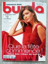 Magazine Burda de décembre 2004 (n°60)