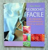 Livre Le crochet facile - 20 créations contemporaines