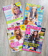 Lot de 4 magazines Modes & travaux