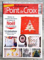 Magazine Réalisations au point de croix n°3 - Noël