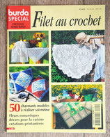 Magazine Burda spécial E496 - Filet au crochet