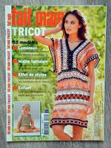 Magazine Fait main Tricot Hors série n°2 - Eté 2013