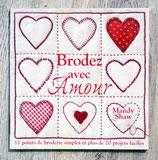 NEUF - Livre Brodez avec Amour