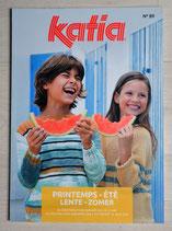 Magazine tricot Katia 89 - Modèles enfants