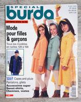 Magazine Burda enfants automne-hiver 95/96 - E325