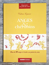 Livre anges et chérubins au point de croix