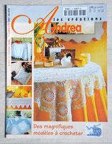 Magazine Les créations d'Andréa 10-2011 - Des magnifiques modèles à crocheter