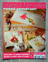 Magazine Mains & Merveilles HS n°4 - Souris à broder