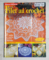 Magazine Diana Créatif 13H - Filet au crochet
