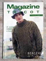 Magazine Bergère de France n°126 - Spécial homme