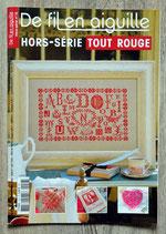Magazine De fil en aiguille Hors série n°18 - Tout rouge
