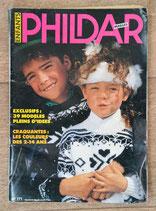 Magazine Phildar mailles enfants n°171