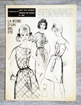 Patron Modes de Paris n°806 - Robe vintage