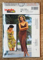 Pochette patron Burda 2951 - Robe