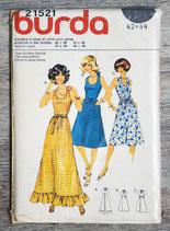 Pochette patron Burda n°21521 - Robe (Vintage)