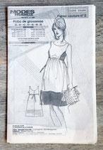 Patron de couture Modes & Travaux - Robe de grossesse