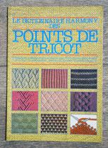 Livre Dictionnaire Harmony des points de tricot 1