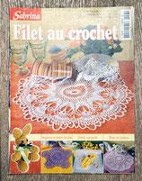 Magazine Sabrina crochet 13 - Filet au crochet