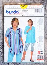 Pochette patron Burda n°8631 - Chemisier dame